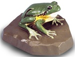 Tree Frog Replica, female (Hyla arborea)