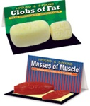 Globs of Fat and Masses OfMuscle Set (1 lb and 5 lb)