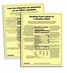 Reading Food Labels Is AHealthy Habit Tear Pad