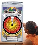 Drinking Clock Action Display