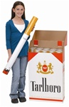 Giant Cigarette Box (withremovable Cigarette Model)