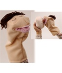 Breastfeeding Hand Puppet,Beige