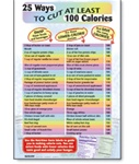 25 Ways to Cut at Least 100Calories Chart