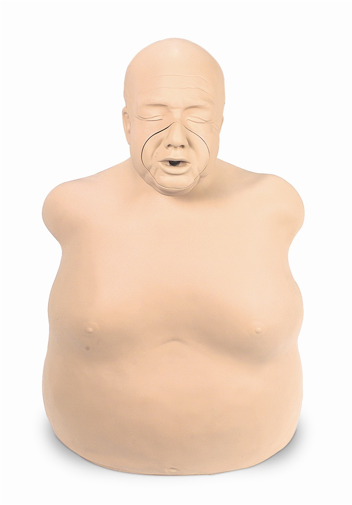 fat old fred cpr manikin made in usa by simulaids
