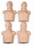 Economy Adult Sani-Manikin for CPR 4 Pack